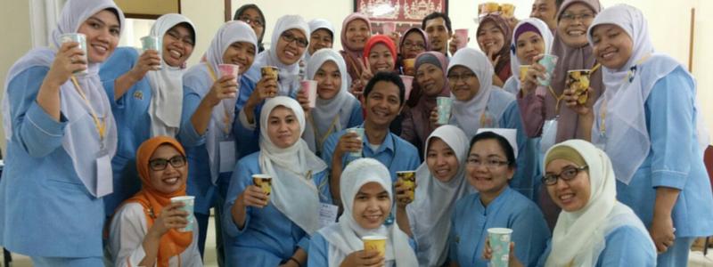 Bericht uit Indonesië 14: Misselijkheid