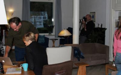 Fotoshoot voor IKNL in Demeter