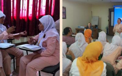 Bericht uit Indonesië 10: Presenteren