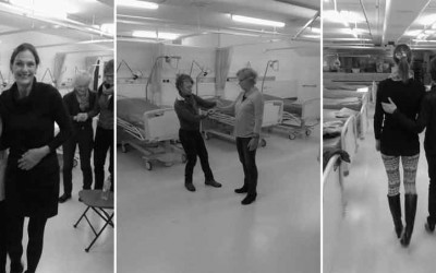 Vrijwilligers Demeter oefenen in Calamiteitenhospitaal